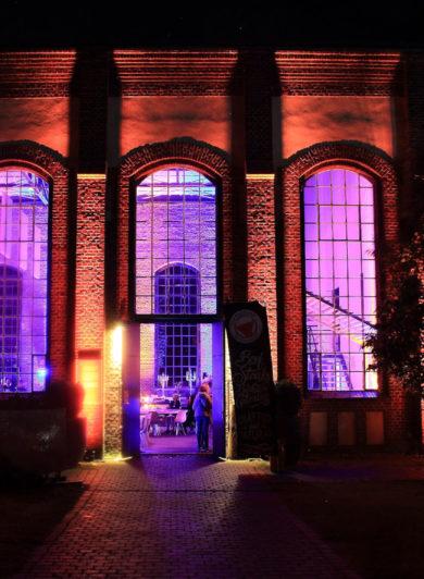 X-Mas Werkstatt Zeche Waltrop 2021 - Festliche Beleuchtung